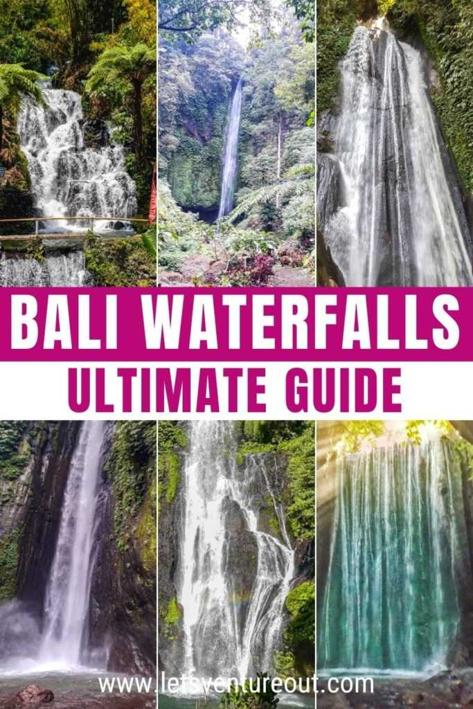Ultimate guide to the best waterfalls in Bali, Indonesia